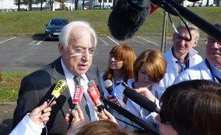 Pierre Méhaignerie est le maire de Vitré depuis 40 ans.