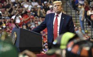 Donald Trump est président des Etats-Unis depuis janvier 2017.
