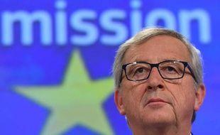 Le président de la Commission européenne, Jean-Claude Juncker, le 4 mars 2015 à Bruxelles
