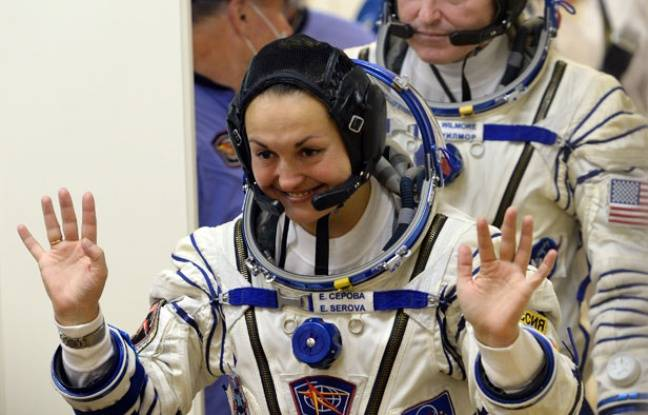 La cosmonaute Yelena Serova, le 25 septembre 2014.