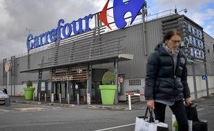Le magasin Carrefour de Nantes (image d'illustration).