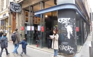 A Lyon, le 14 décembre 2014,  lors des dernières projections au CNP avant sa fermeture pour travaux.