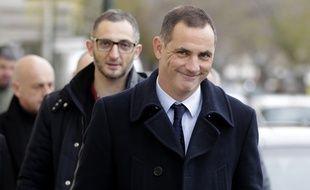 Gilles Simeoni, le 10 décembre 2017, après avoir voté aux élections territoriales de Corse.