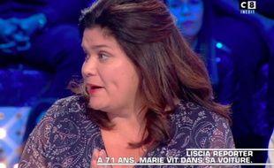 Raquel Garrido émue devant le témoignage de Marie, 71 ans, SDF.