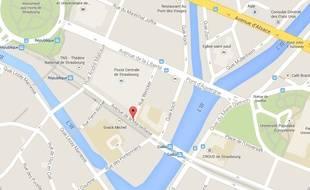Avenue de la Marseillaise. Google Maps
