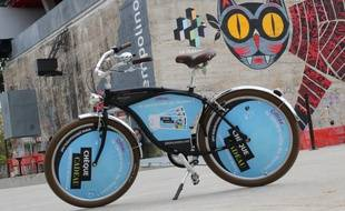 Les vélos publicitaires arrivent en ville
