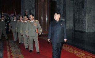 La presse officielle nord-coréenne a imprimé le nom de Kim Jong-Un en caractère gras, un signe d'allégeance supplémentaire du régime à son nouveau dirigeant.