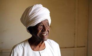 Mahjoub Mohamed Salih,le fondateur du quotidien soudanais indépendant Al-Ayam, créé en 1953, à Khartoum le 25 juin 2015