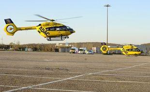 Des hélicoptères allemands avaient déjà récupérés des patients de Metz cette semaine.