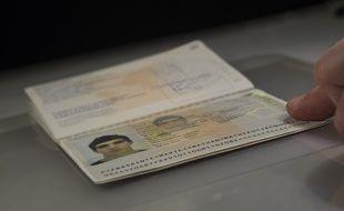 Image d'illustration d'un passeport.