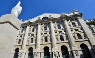 La Bourse de Milan le 23 mai 2013