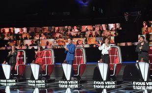 Florent Pagny, Jenifer, Mika, Zazie et Patrick Fiori sont les coachs de The Voice All Stars.