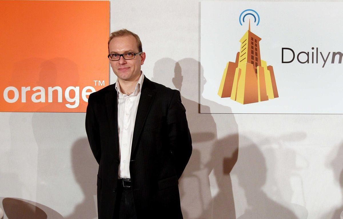Le PDG de Dailymotion, Cédric Tournay. – MEIGNEUX/SIPA