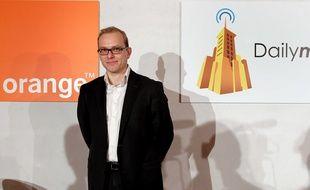 Le PDG de Dailymotion, Cédric Tournay.