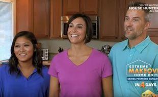 Gelli, Lori et Brian sont apparus dans la série «House Hunters».