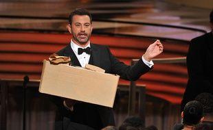 Jimmy Kimmel lors de la 68e cérémonie des Emmy Awards le 18 août 2016