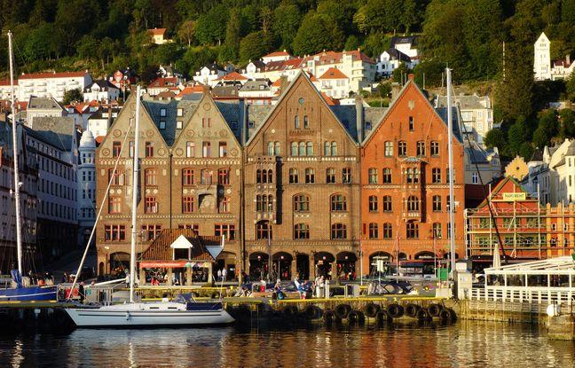 Ravagée par de nombreux incendies, Bergen conserve quelques rares témoignages de son passé hanséatique.