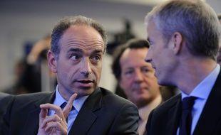Jean-François Copé et Franck Riester, deux députés-maires sortants (LR) en Seine-et-Marne.