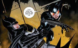 Extrait d'un planche du tome 2 de «Batman Rebirth», dessiné par Mikel Janin et Mitch Gerads