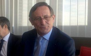 Robert Herrmann, président de l'Eurométropole de Strasbourg et adjoint au maire. Strasbourg le 26 février 2019.