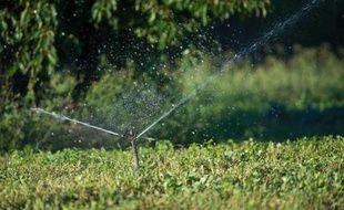 Conséquence de la sécheresse que la France connaît en 2011, l'arrosage est interdit dans plusieurs départements
