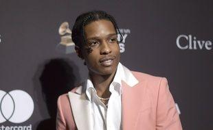 Le rappeur américain  A$AP Rocky à Berverly Hills en février 2019.