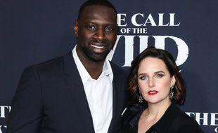 Omar Sy et Hélène Sy le 13 février 2020 à Los Angeles