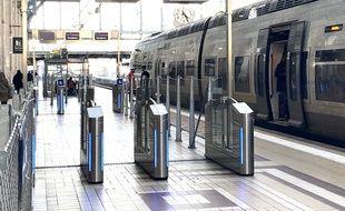 La gare SNCF de Bordeaux Saint-Jean