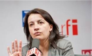 Cécile Duflot, hier à RFI.