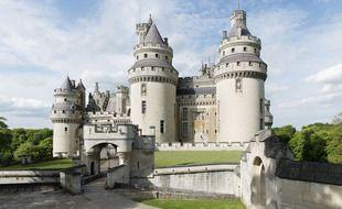 Le château de Pierrefonds, dans l'Oise.