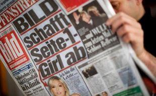 Le quotidien allemand Bild est le journal le plus lu en Europe.