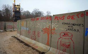 Le bois Lejuc était occupé par les militants antinucléaires depuis l'été 2016