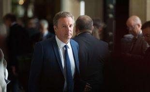 Dupont-Aignan à l'Assemblée nationale en juin 2017