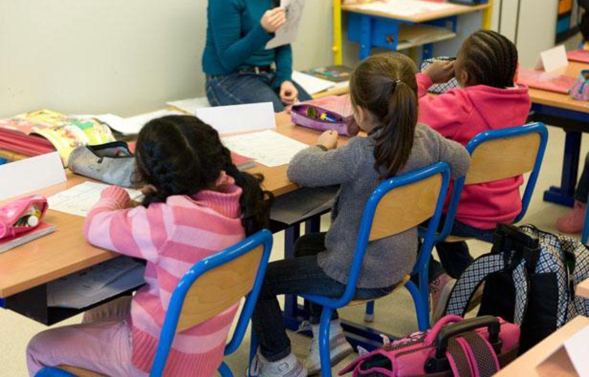 Dans une école primaire. – A. GELEBART / 20 MINUTES