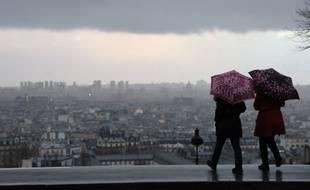 Un orage s'est abattu sur Paris ce mardi (image d'illustration).