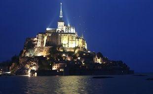 Le Mont Saint-Michel le 20 mars 2015.