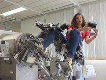 Mares, le banc de muscu high-tech dont il ya une réplique en kit sur l'ISS.