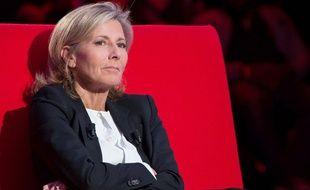 """Claire Chazal dans l'émission """"Le divan"""" de Marc-Olivier Fogiel"""