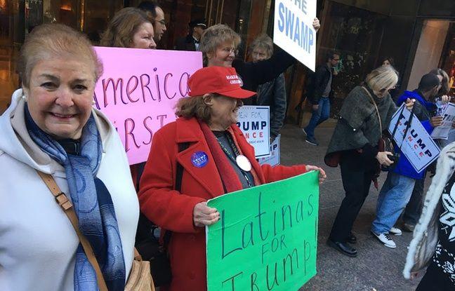 Le vote des femmes est également allé vers le candidat républicain.