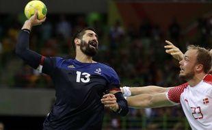 La France de Nikola Karabatic s'est inclinée en finale des JO de Rio face au Danemark, le 21 août 2016.
