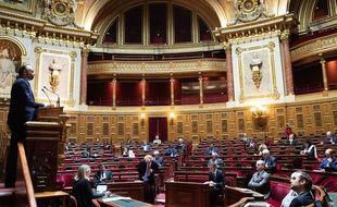 Edouard Philippe au Sénat.