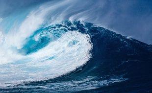 Une vague (illustration).