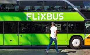 Illustration d'un bus Flixbus
