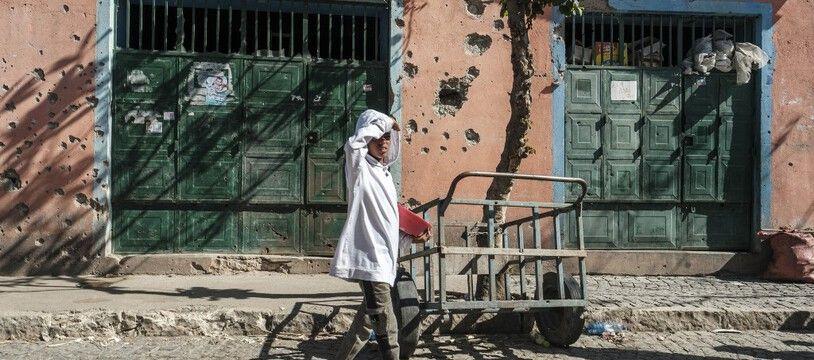 A Mekele, la capitale du Tigré, en Ethiopie, en février. (archives)