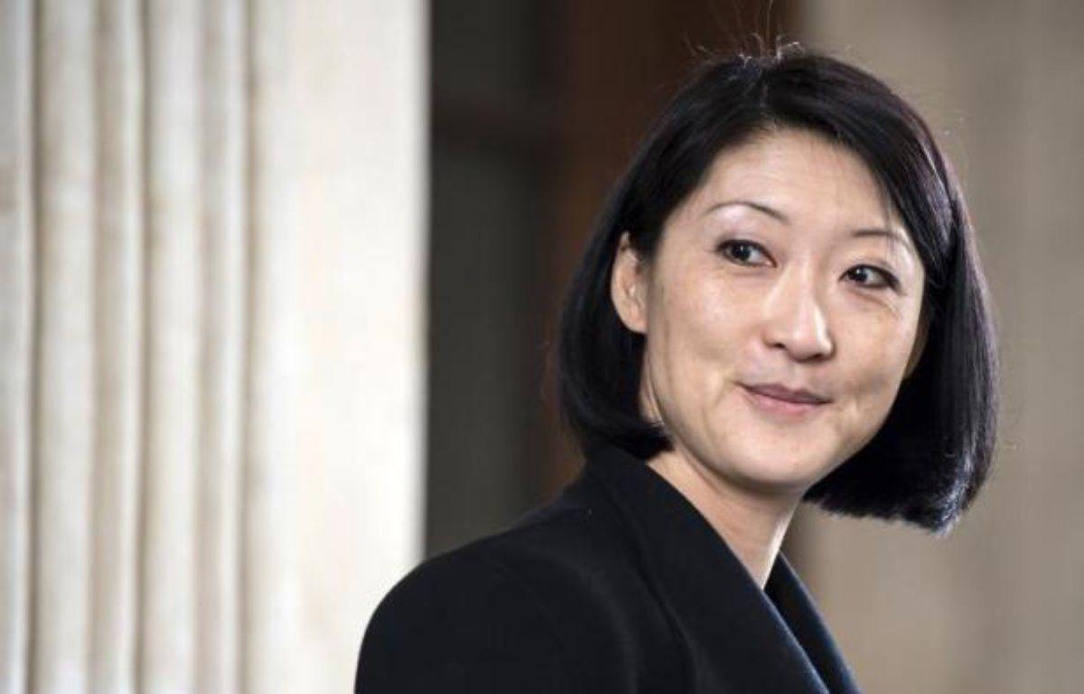 La ministre de la Culture, Fleur Pellerin, le 3 avril 2015 à Lyon – JEAN-PHILIPPE KSIAZEK AFP