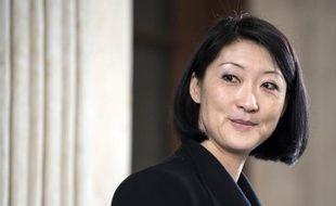 La ministre de la Culture, Fleur Pellerin, le 3 avril 2015 à Lyon