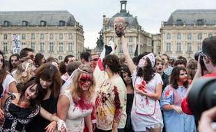 Parade de la Zombie Walk, le 26 ocotbre 2013 à Bordeaux