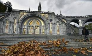 La Basilique Notre-Dame-du-Rosaire à Lourdes, le 3 novembre 2015