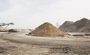 Une vingtaine de millions de tonnes de terre sont extraits chaque année des chantiers franciliens.