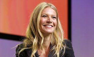 Gwyneth Paltrow en pleine conférence à Los Angeles